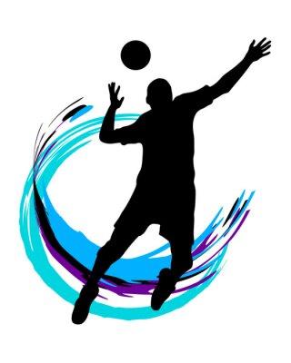 Наклейка Volleyball - 89