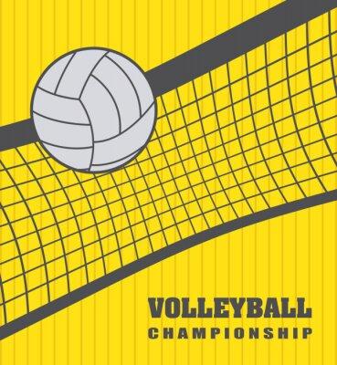 Наклейка Волейбол мяч