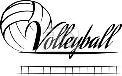 Наклейка Волейбол Баннер