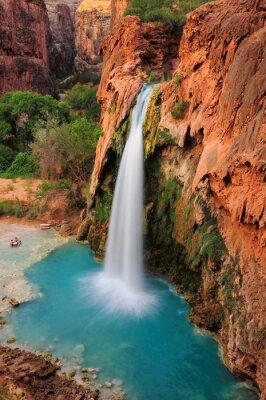 Наклейка Водопад в Гранд-Каньон, Аризона, США