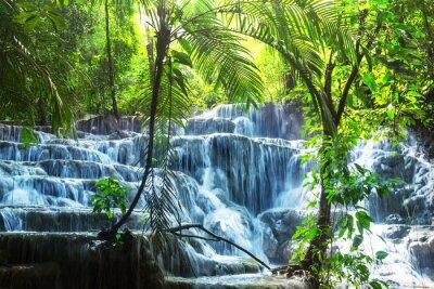 Наклейка Водопад в Мексике