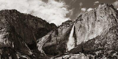 Наклейка Водопады