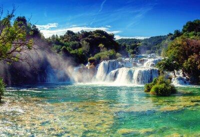 Наклейка Водопады Крка