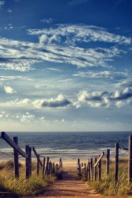 Наклейка Weg Zum Strand Am Meer