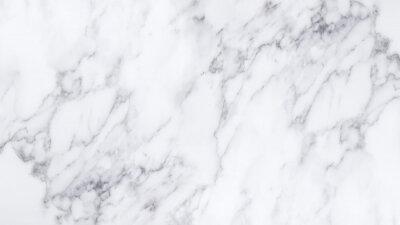 Наклейка Белая мраморная текстура и фон.