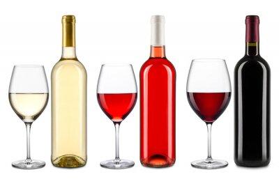 Наклейка Коллекция вин