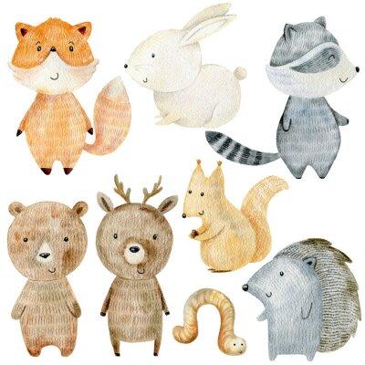 Наклейка Woodland Animals Set