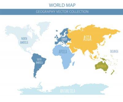 Наклейка Элементы карты мира. Создайте свою собственную коллекцию графической информации о географии