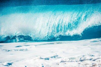 Наклейка 激 し い 大 波, ハ ワ イ の ノ ー ス シ ョ ア