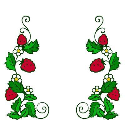 Наклейка ягода