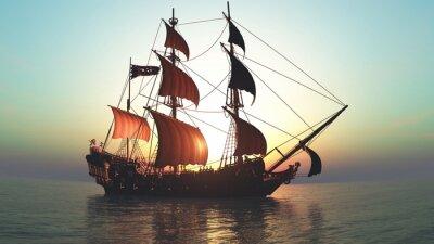 Наклейка 帆船