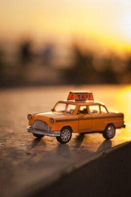 Наклейка Желтые такси