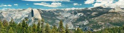 Наклейка Йосемитский национальный парк
