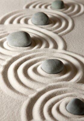 Наклейка Zen камни