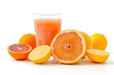 Наклейка Zitrusfrüchte унд Saft